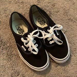 Authentic classic black vans